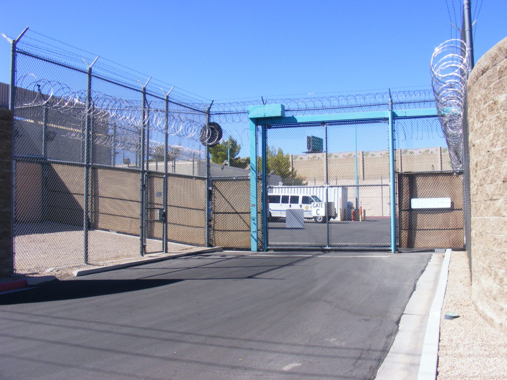 City of Las Vegas Detention Center - Entrance C