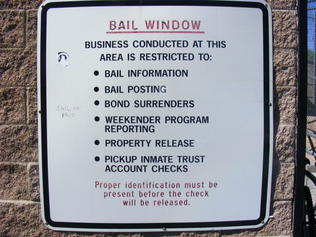 Las Vegas Detention Center - Bail Window Rules