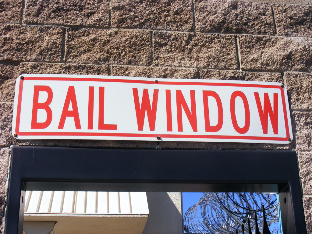 Las Vegas Detention Center - Bail Window