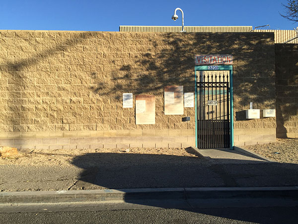 Las Vegas Detention Center Visitation Entrance